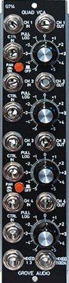 MU Module GMS-714 Quad VCA from Grove Audio