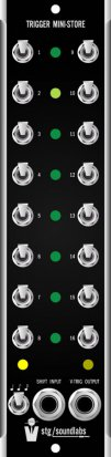 MU Module Trigger Mini-Store from STG Soundlabs