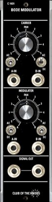 MU Module C 1631 from Club of the Knobs