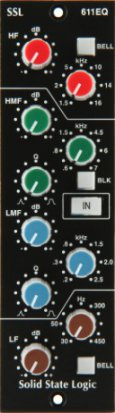 500 Series Module SSL 611EQ from Solid State Logic