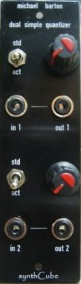 Frac Module Synthcube/ Barton Dual Quantizer from Other/unknown