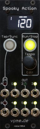 Eurorack Module Spooky Action from vpme.de