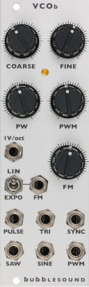 Eurorack Module VCOb from Bubblesound Instruments