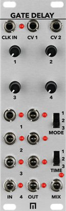 Eurorack Module Quad Gate Delay from Malekko Heavy Industry