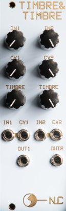 Eurorack Module Timbre & Timbre from Nonlinearcircuits