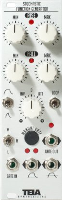 Eurorack Module Stochastic Function Generator from Teia