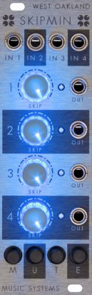 Eurorack Module Skipmin from West Oakland Music Systems