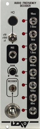 Eurorack Module Audio Frequency Decoder from LZX Industries