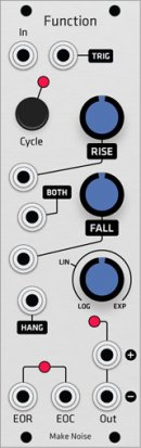 Eurorack Module Make Noise Function (Grayscale panel) from Grayscale