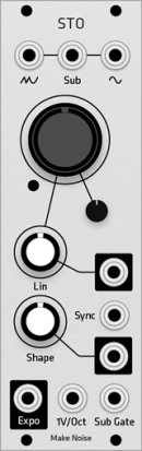 Eurorack Module Make Noise STO (Grayscale panel) from Grayscale