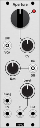 Eurorack Module RYO Aperture (Grayscale panel) from Grayscale