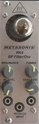 Eurorack Module RK4 Filter/VCO from Metasonix