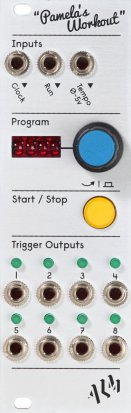 Eurorack Module ALM001 - Pamela's Workout from ALM Busy Circuits