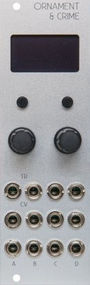 Eurorack Module μO_C (Silver)  from Other/unknown