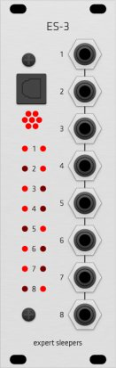 Eurorack Module ES-3 (Grayscale panel) from Grayscale