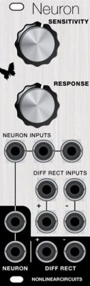 Eurorack Module Neuron Difference Rectifier from Nonlinearcircuits