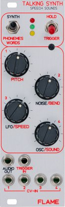 Eurorack Module Talking Synth from Flame
