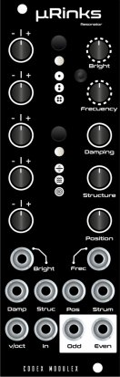 Eurorack Module µRinks from Codex Modulex