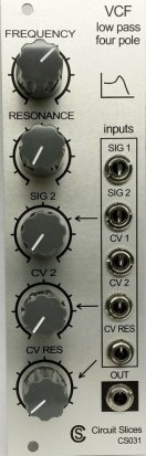 Eurorack Module Low Pass VCF (4 Pole) from Other/unknown