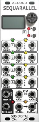 Eurorack Module Sequarallel from SDS Digital