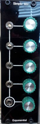 Eurorack Module Simple Mix - DIY Mixer from Other/unknown