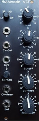 Eurorack Module Multimode VCF from MFB