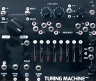 Music Thing Modular Turing Machine Mk I (Magpie Black Mirror expanded panel)