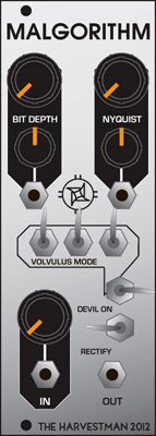 Eurorack Module Malgorithm from Industrial Music Electronics