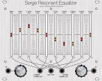 CGS Serge Resonant Equalizer (Clarke Panel)