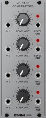 Eurorack Module Voltage Comparators (Silver) from EMW