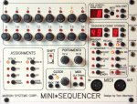 Marion Systems Corporation Oberheim Mini Sequencer