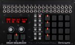 Erica Synths Drum Sequencer with Black Keys