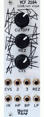 Eurorack Module VCF 2164 from Noise Reap