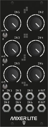 Eurorack Module Drum Mixer Lite from Erica Synths