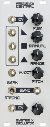 Eurorack Module System X Oscillator from Frequency Central