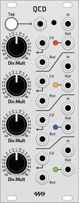 Eurorack Module 4ms QCD (Grayscale panel) from Grayscale