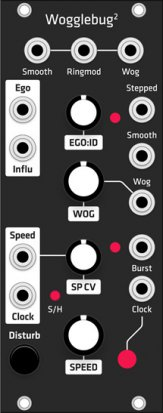 Eurorack Module Richter Wogglebug (Grayscale black panel) from Grayscale