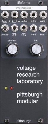 Eurorack Module Lifeforms Voltage Research Laboratory Output Utility from Pittsburgh Modular