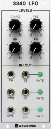 Eurorack Module 3340 Low-Frequency Oscillator (LFO) from Wavefonix