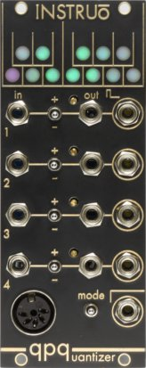 Eurorack Module QPQ Quad Performance Quantizer [Custom Shop] from Instruō