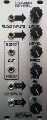 Eurorack Module System X Filter from Frequency Central