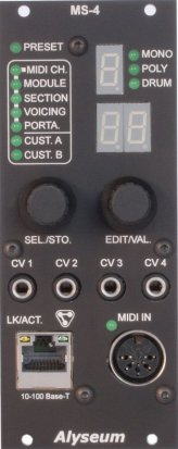Eurorack Module MS-4 from Alyseum