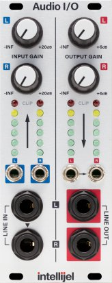Eurorack Module Audio Interface II from Intellijel