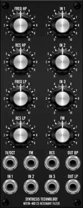 MOTM Module MOTM 480 CS-80 Filter from Synthesis Technology