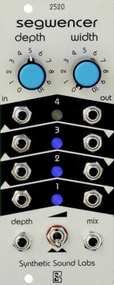 Eurorack Module Segwencer from Synthetic Sound Labs