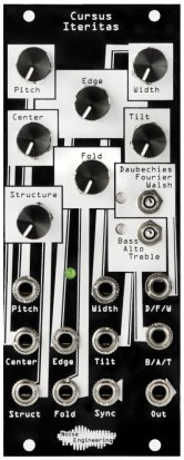Eurorack Module Cursus Iteritas (Black) from Noise Engineering