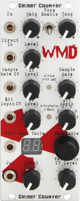 Eurorack Module Geiger Counter from WMD