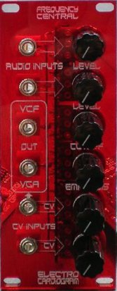 Eurorack Module Electro Cardiogram VCF/VCA from Frequency Central