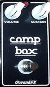 Pedals Module Comp Box from OceanEFX