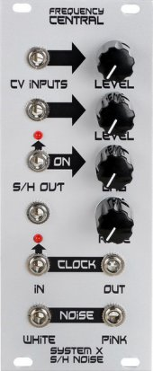 Eurorack Module System X S/H Noise from Frequency Central